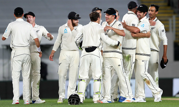 New Zealand win by an innings and 49 runs against England in Auckland Test
