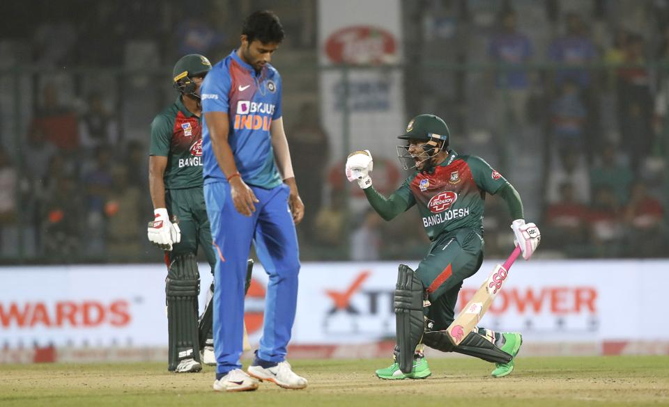Bangladesh beat India by 7 wickets in 1st T20 match in  Delhi