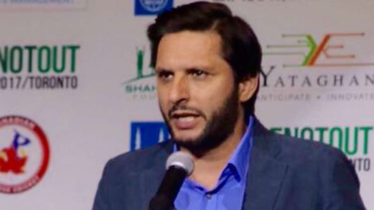 Shahid Afridi slams Indian media, says Kashmir belongs to Pakistan
