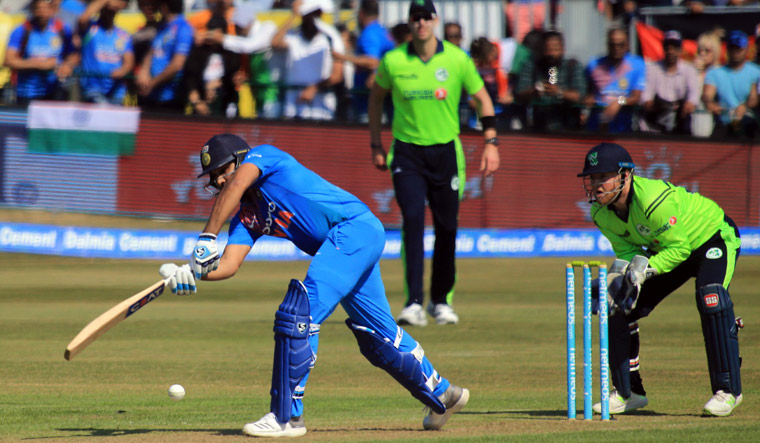 India beat Ireland by 76 runs in opening T20 at Dublin
