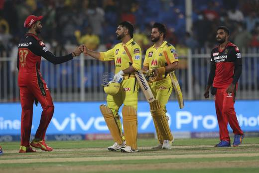 IPL 2021: Chennai Super Kings beat Royal Challengers Bangalore by six wickets