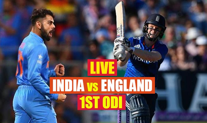 1st ODI of 3-match series between India, England to be played today