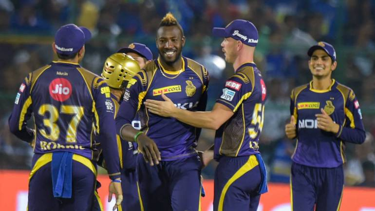 KKR beat MI by 34 runs at Eden Gardens in Kolkata