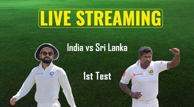 India-Sri Lanka Test starts after loss of first session