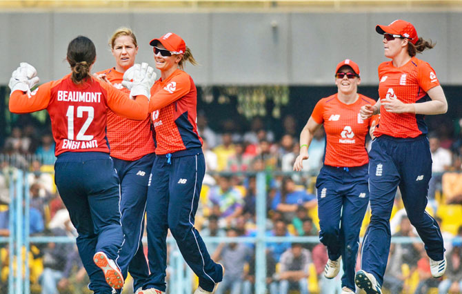 England beat India by 41 runs in T20 match at Guwahati