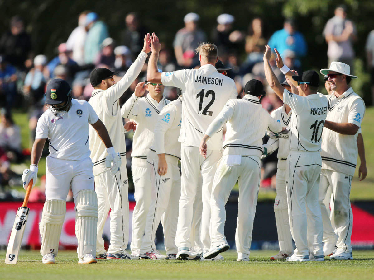 2nd Test: India bowled out for 242 in the first innings against New Zealand