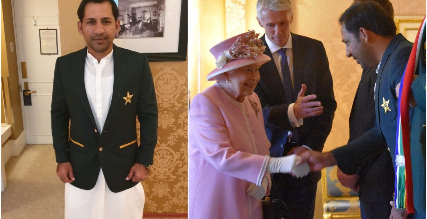 Indian Fans Defends Pakistan Captain Who Was Trolled for Wearing Traditional Outfit During Royal Meeting