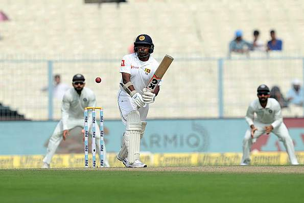 1st Test ,Day 4 : Ind vs SL : Sri Lanka 263-8 at lunch, lead by 91
