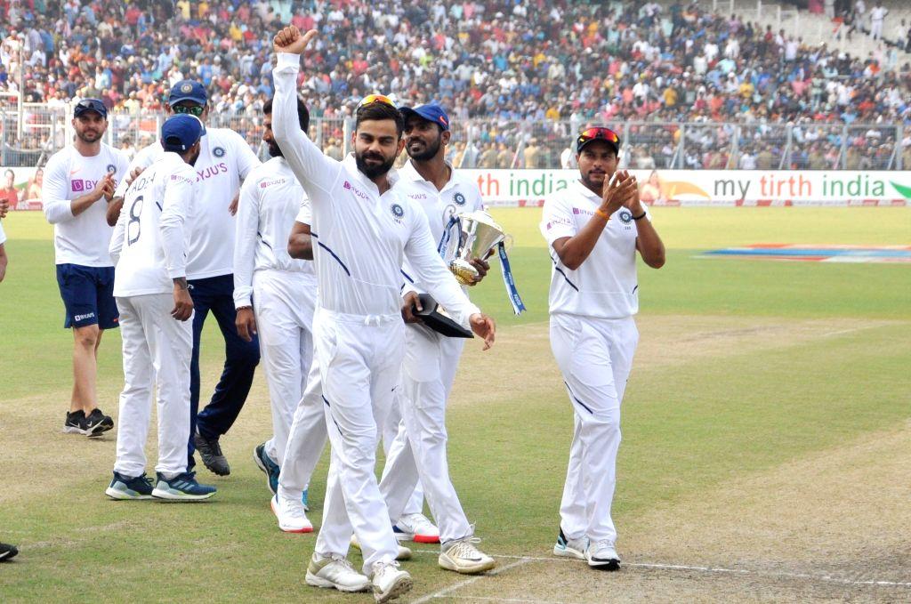 indiabeatbangladeshin2ndtestmatchbyaninningsand46runs