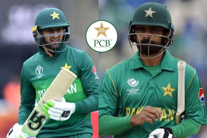 Malik, Hafeez not awarded central contracts by PCB