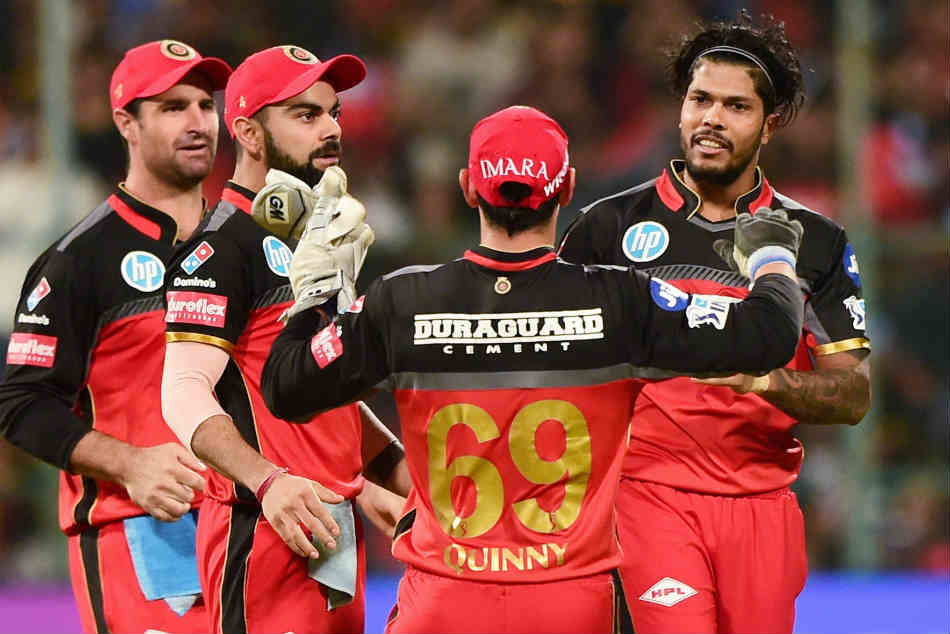 Royal Challengers Bangalore beat Mumbai Indians by 14 runs at Bengaluru