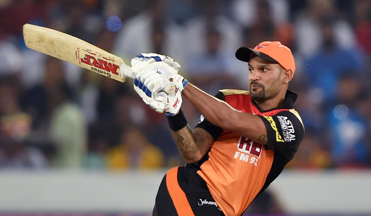 Sunrisers Hyderabad trade Shikhar Dhawan to Delhi Daredevils