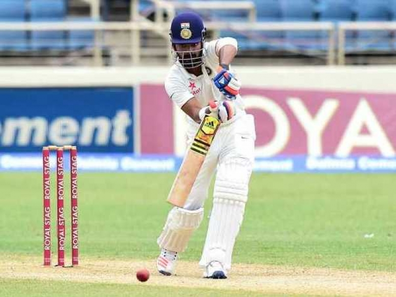 Rahul hits fifty as India reach 101 for one at lunch