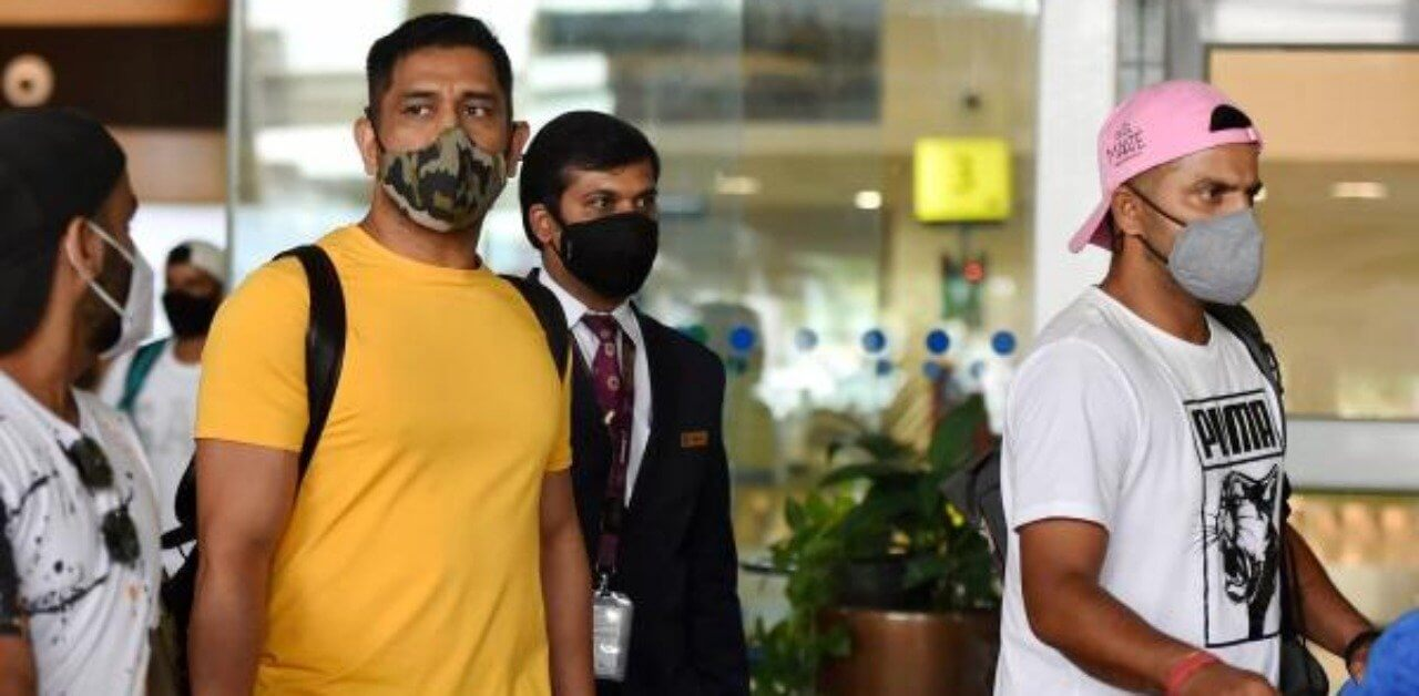 MS Dhoni joins the teammates of CSK in Chennai for camp ahead of IPL 2020