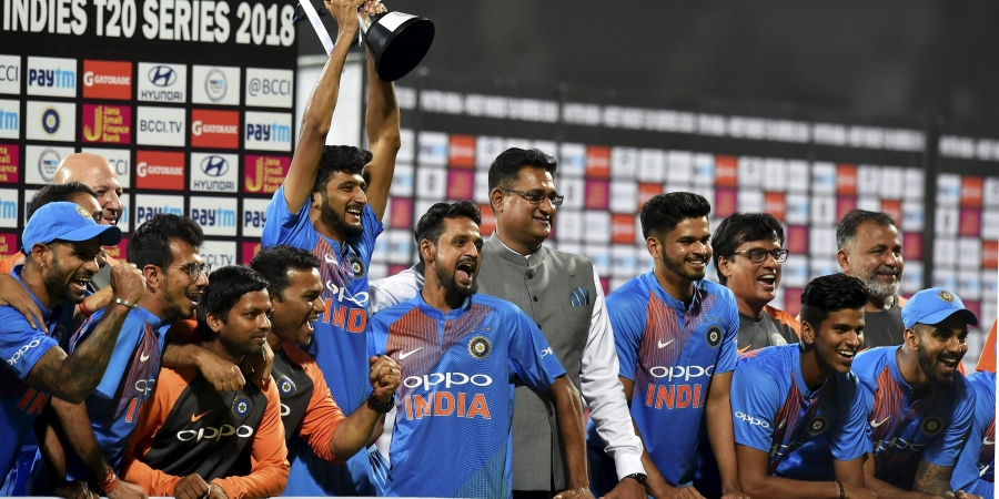 India clean sweep T20 series against West Indies
