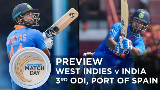 India and West Indies to play third ODI at Port of Spain today