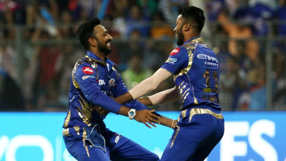 Mumbai Indians beat Kolkata Knight Riders by 4 wickets in IPL 2017