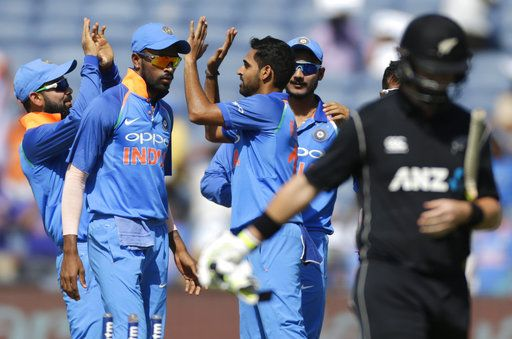 Ind vs NZ 2nd ODI: Indians restrict Kiwis to 230-9 from 50 overs