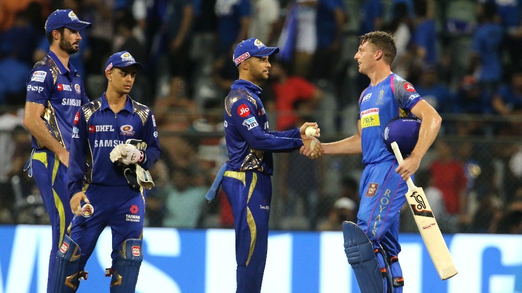 Rajasthan Royals registers comfortable win against Mumbai Indians