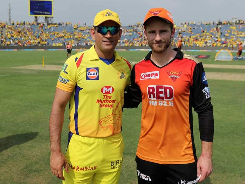 Sunrisers Hyderabad to host Chennai Super Kings this evening