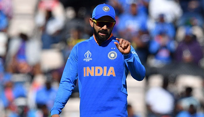 Virat Kohli fined 25% of his match fee for aggressive appealing