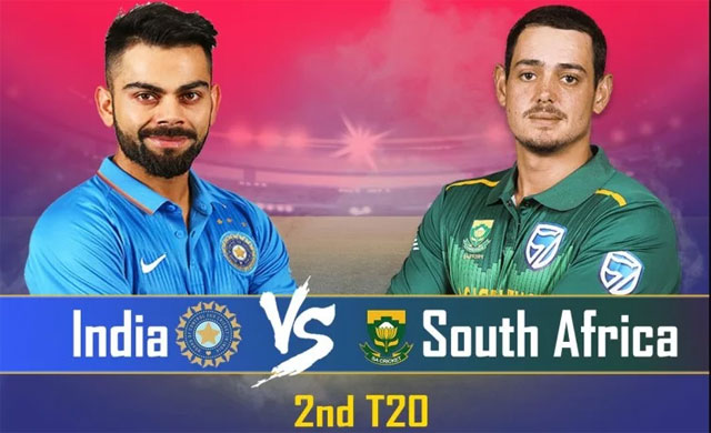 India to play against South Africa in 2nd T20 match at Mohali today