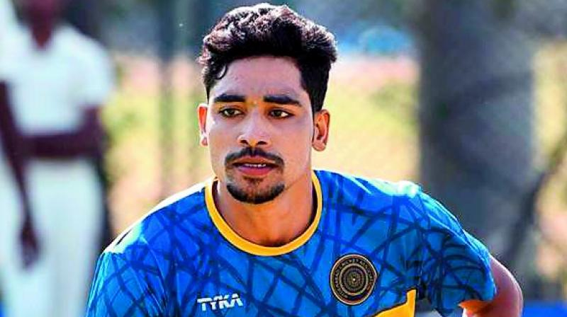Mohammed Siraj in India T20 squad against New Zealand