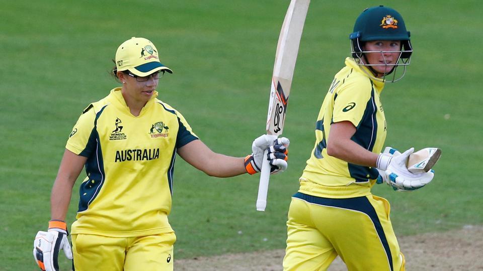 Australia women beat England by 8 wickets