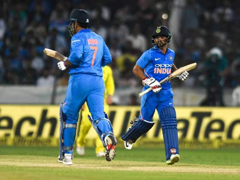 India beat Australia by six wickets in 1st ODI at Hyderabad