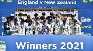 New Zealand win Test series against England