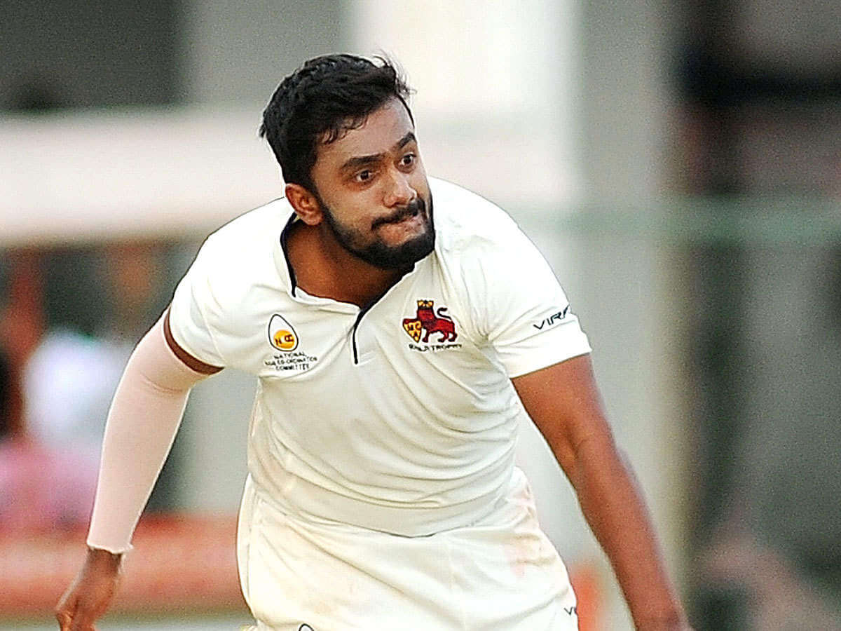 Delhi Capitals roped in Shams Mulani as IPL's first short term COVID-19 replacement in place of Axar Patel