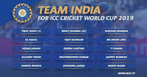 India's World Cup squad: Karthik pips Pant, Shankar in at No.4