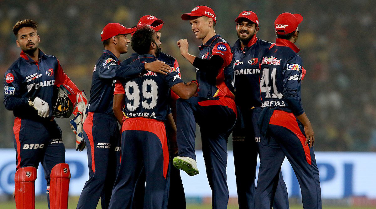Delhi Daredevils beat Chennai Super Kings by 34 runs