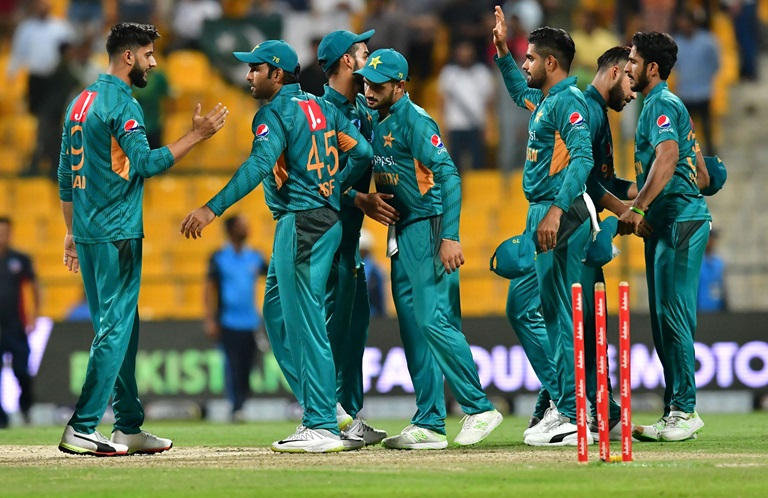 Pakistan registers thrilling win against New Zealand in 1st T20 match in Abu Dhabi