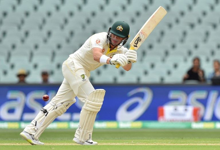 1st Test: Australia 57 for two in first innings against India at lunch