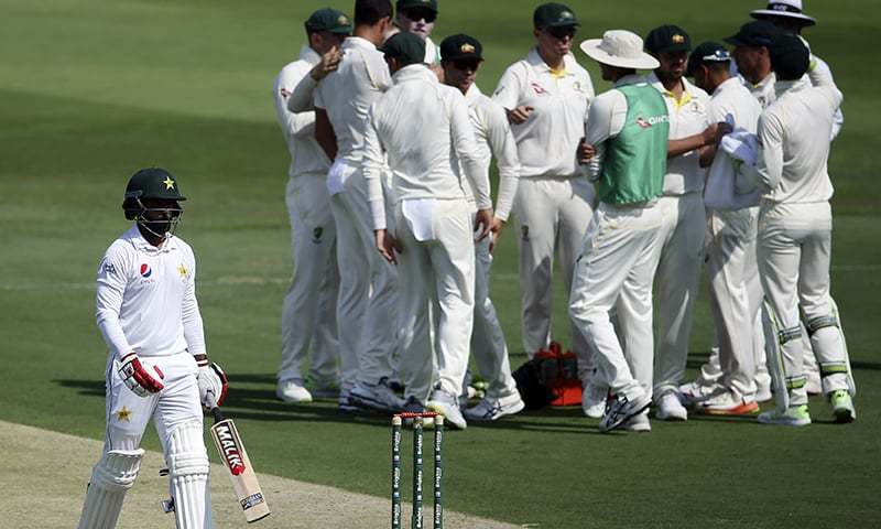 Pakistan in a commanding position against Australia in 2nd Test match at Abu Dhabi