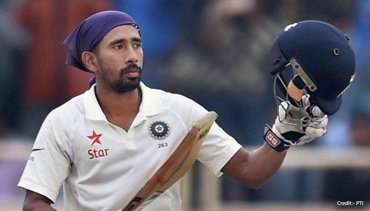 Wriddhiman Saha to be available for WTC Final after recovered from COVID-19