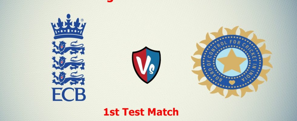 First cricket test between India, England to begin today