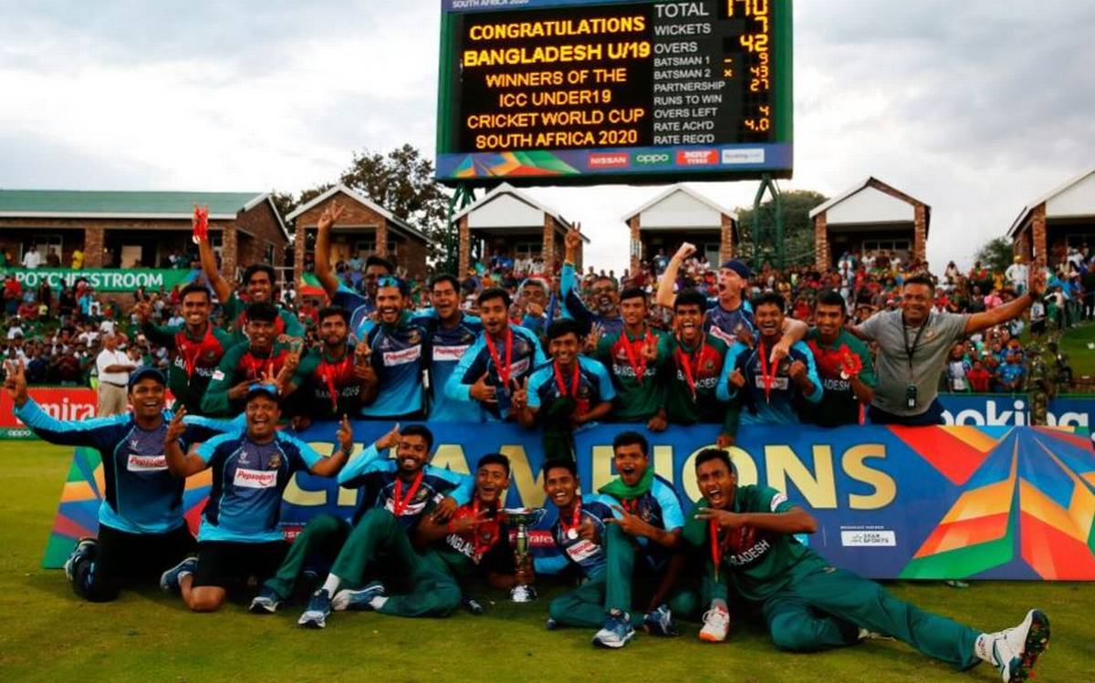 bangladeshu19liftsworldcup2020