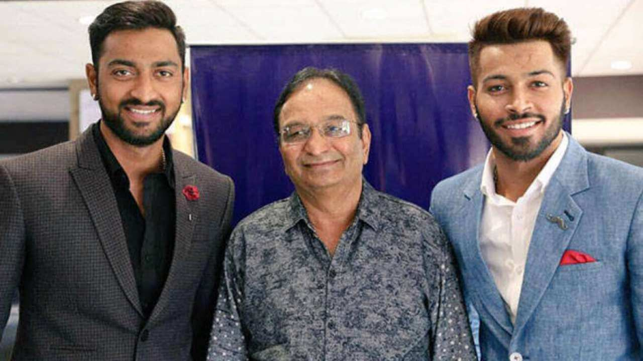 Indian cricketers extend condolences to Pandya brothers on his father demise
