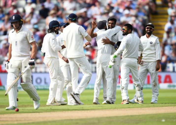 England 285 for nine on opening day of 1st cricket test match at Birmingham