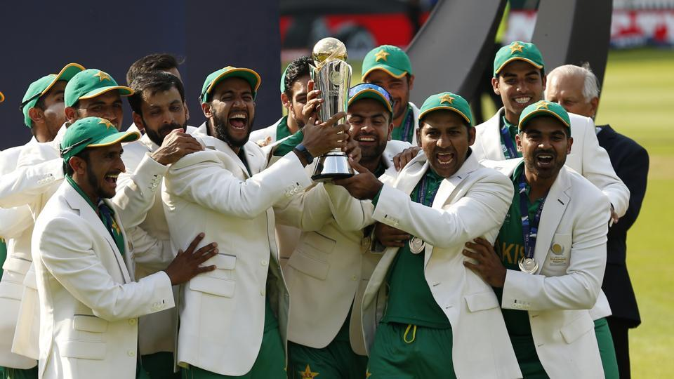 ICC Champions Trophy : Pakistan thrash India, win first-ever Champions Trophy Title