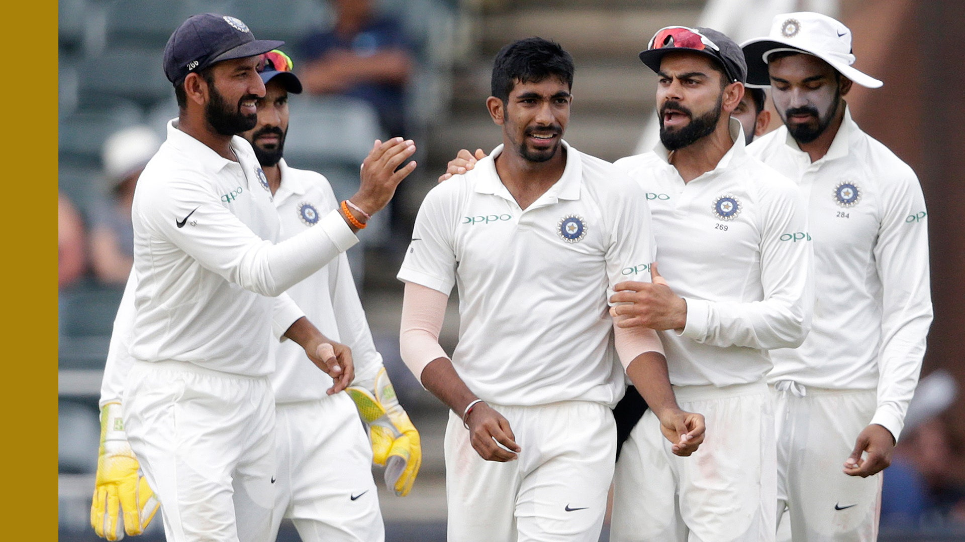 Indian players not allowed to meet each other for three days in Southampton.
