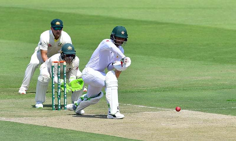 Pakistan bowled out for 282 in second Test at Abu Dhabi