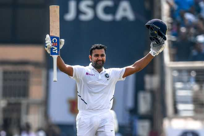Rohit Sharma cracks double century against South Africa at Ranchi