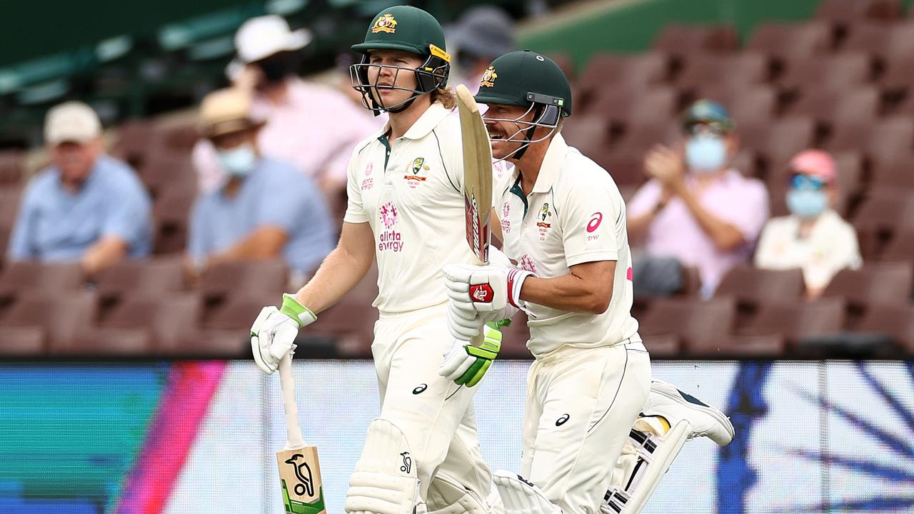 Australia 150 for 3 against India in fourth test at Brisbane