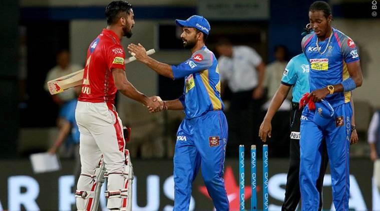 Rajasthan Royals beat Kings XI Punjab by 15 runs in Jaipur