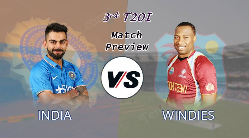 India to face West Indies in 3rd T20 match in Mumbai today