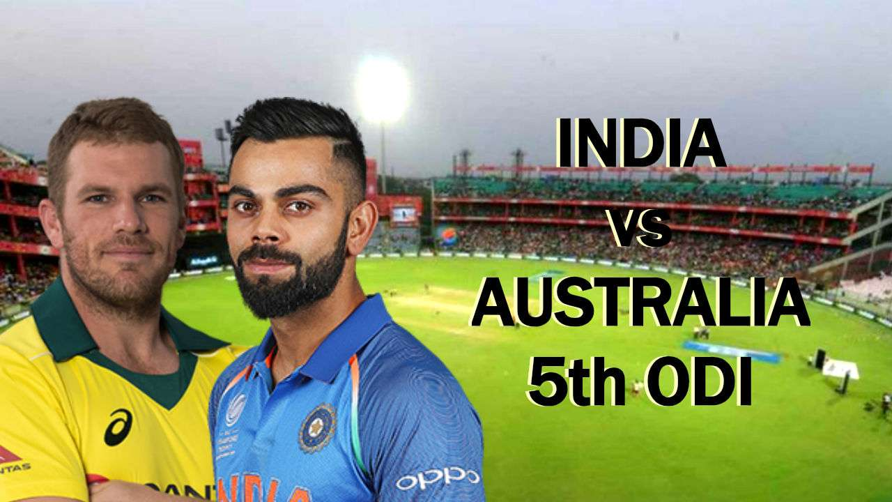 India to play against  Australia in the 5th and final ODI in Delhi today