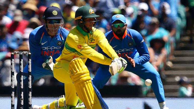 Australia win the toss and bat against India in 1st ODI at Sydney